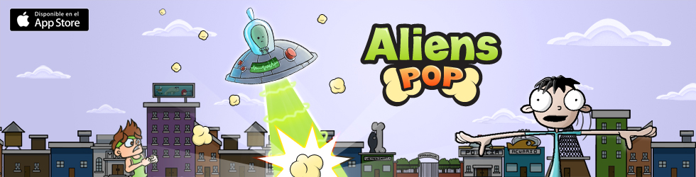 Aliens Pop - juego para Windows phone, Ios y Android