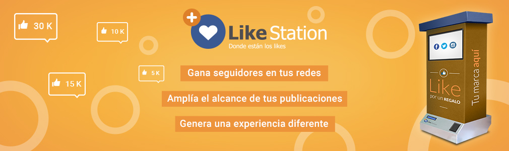 Like Station-Regalo por un like
